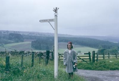 Christina McBain circa 1965