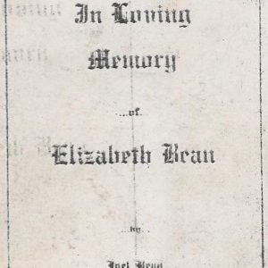 #30 Eulogy to Elizabeth Bean