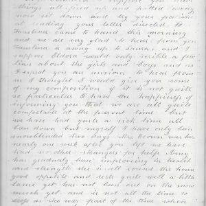 #32 1863 Samuel Q. Bean Letter