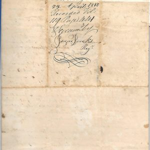 #7 1815 Deed, Samuel Bean to son William