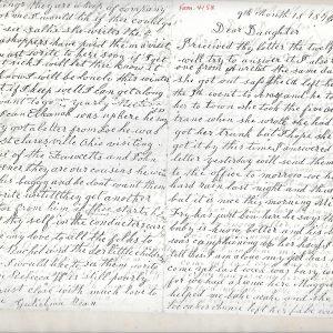 #11 Mordecai Bean Family Letter