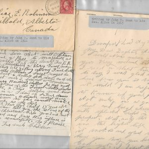 #14 John T. Bean Letter