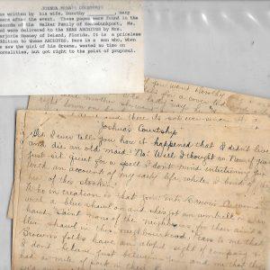 #15 Joshua Bean Letter