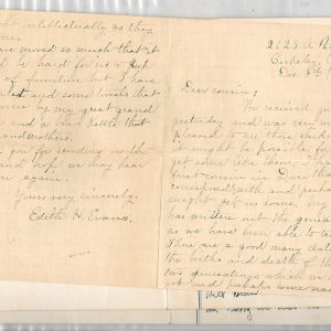 #2 Lindley Beane Letters