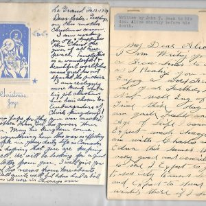 #6 John T. Bean Letters