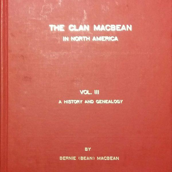 Clan MacBean, Vol 3, 5th Ed
